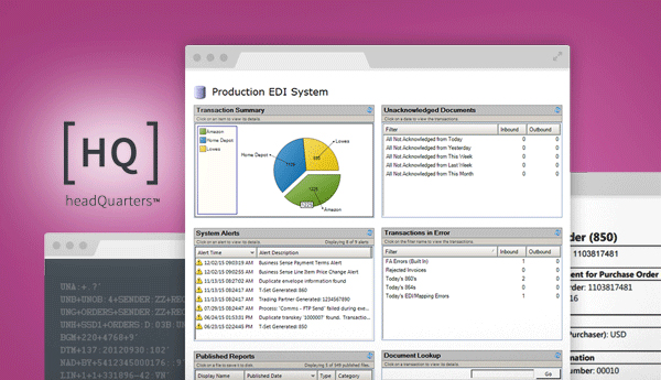 EDI HQ software product overview